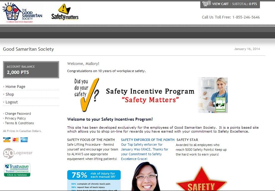 Safety Points